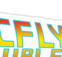 McFly's Double Ties Sticker