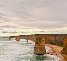 The Twelve Apostles Great Ocean Road Victoria by James  Key