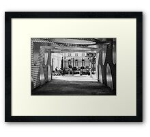 Out of the box Framed Print