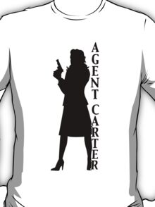 Agent Carter Silhouette Exclusive T-Shirt