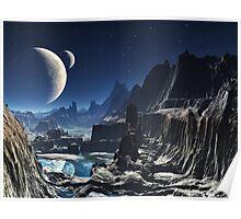 Forbidden Valley Canyon Poster