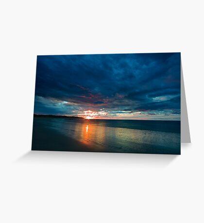 ECO Beach Greeting Card