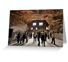 Inside Panagia Sumela monastery Greeting Card