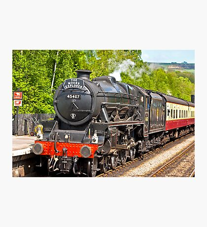 The Moors Explorer at Grosmont Photographic Print