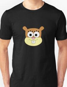 Sandy Cheeks t-shirt without helmet Unisex T-Shirt