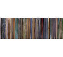 Moviebarcode: A Scanner Darkly (2006) Photographic Print