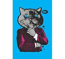 Business Cat Photographic Print