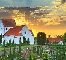 Korup Church by Bogdan Ciocsan