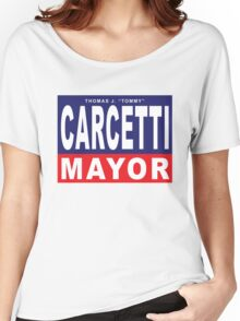 Carcetti for Mayor Women's Relaxed Fit T-Shirt