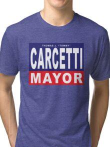 Carcetti for Mayor Tri-blend T-Shirt