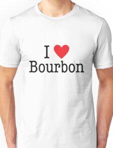 I <3 Bourbon Unisex T-Shirt