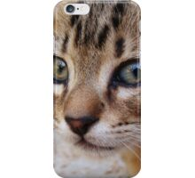 Those Eyes (color) iPhone Case/Skin