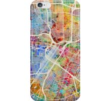 Houston Texas City Street Map iPhone Case/Skin
