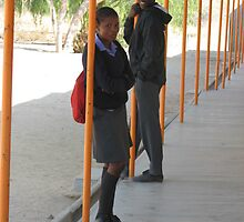 Namibian learners. by Paul Moran