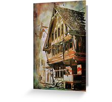 OLD HOUSE.... Greeting Card