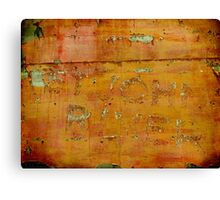 The Old Sign - Collaboration with Shane Jones Canvas Print