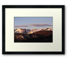Welcome To Saturday Framed Print