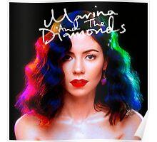 Marina and the Diamonds FROOT Diamandis album cover Poster
