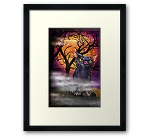 Boris Halloween. Framed Print