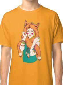 Fox Girl Classic T-Shirt