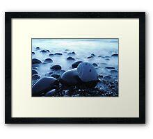 Sea and rocks Framed Print