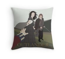 Outlander - The Series - Part II Throw Pillow