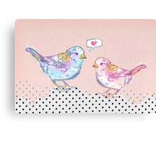Love Chirp Canvas Print