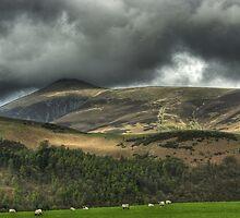 Skiddaw... (from Castlerigg) by Jamie  Green