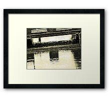 Canal 6 Framed Print