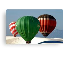 Ballooning Over White Sands National Monument Canvas Print