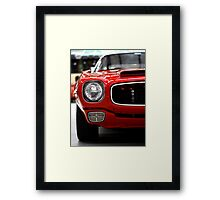 Blow your own horn! Framed Print