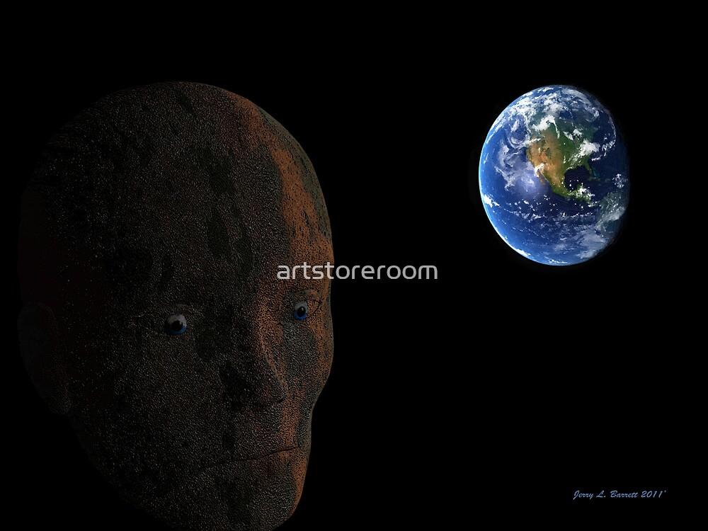 Dieing Planet by artstoreroom