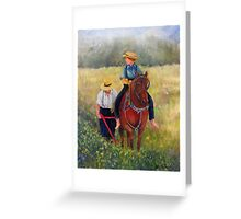 40 Acres Greeting Card