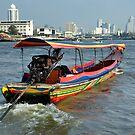 Chao Phraya River by Brendan Buckley