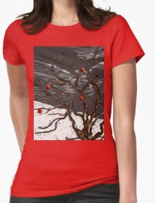 Scene from a Dream Womens Fitted T-Shirt