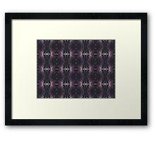 Ink Pattern Framed Print