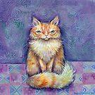 Orange Puff by brettisagirl