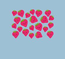 Strawberries Fun Forever! Womens Fitted T-Shirt