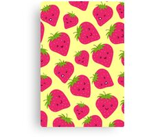 Strawberries Fun Forever! Canvas Print