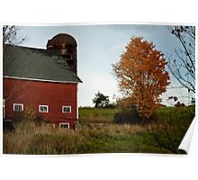Exeter New Hampshire Barn Poster