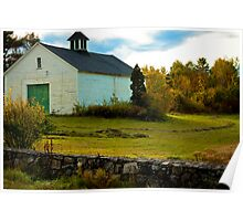 Exeter New Hampshire Farm Poster