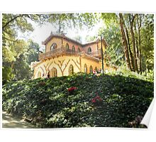 The Chalet of Countess d'Edla – Pena Park of Sintra - Portugal Poster