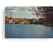 the Exeter River 2 Canvas Print