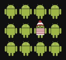 Where's Waldroid? by Karen  Hallion