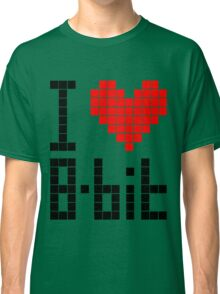 I Love 8-bit <3 Classic T-Shirt