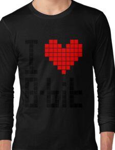 I Love 8-bit <3 Long Sleeve T-Shirt