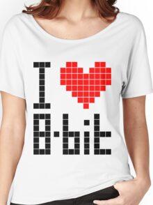 I Love 8-bit <3 Women's Relaxed Fit T-Shirt