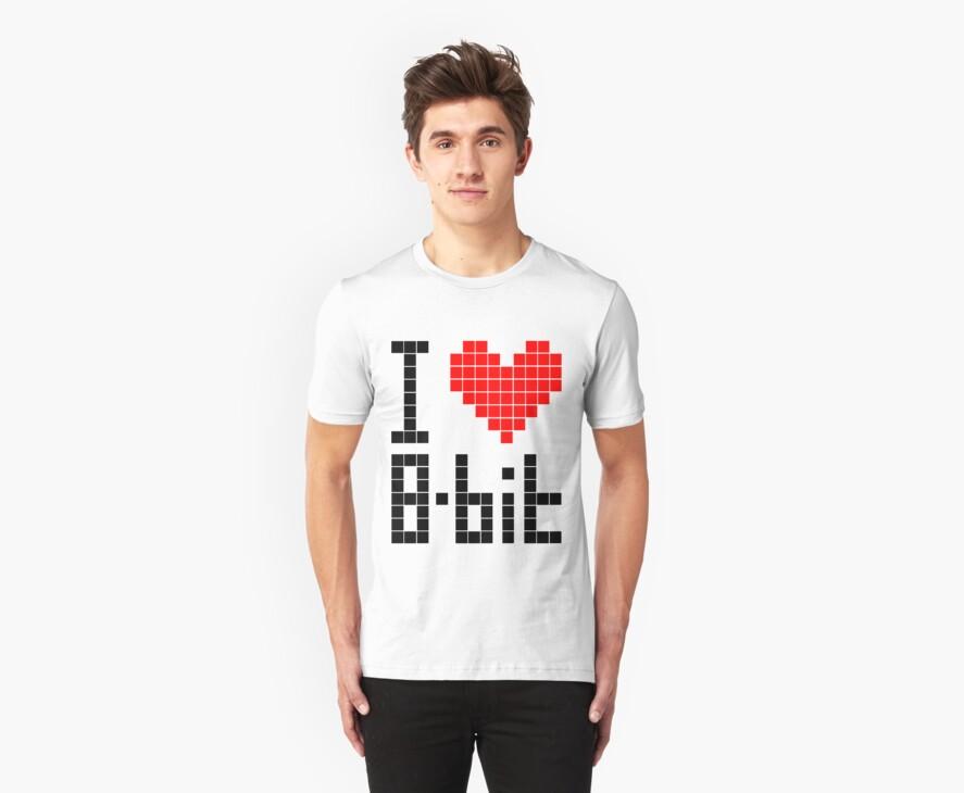 I Love 8-bit <3 by Krydel