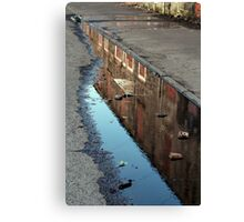 From Here in the Gutter Canvas Print