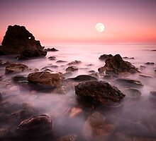 Moon Rise by DaveBrightwell